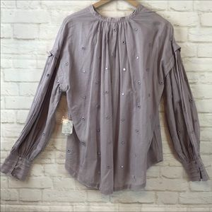 Free People Tops - NWT Free People Peasant / Tunic summer Blouse